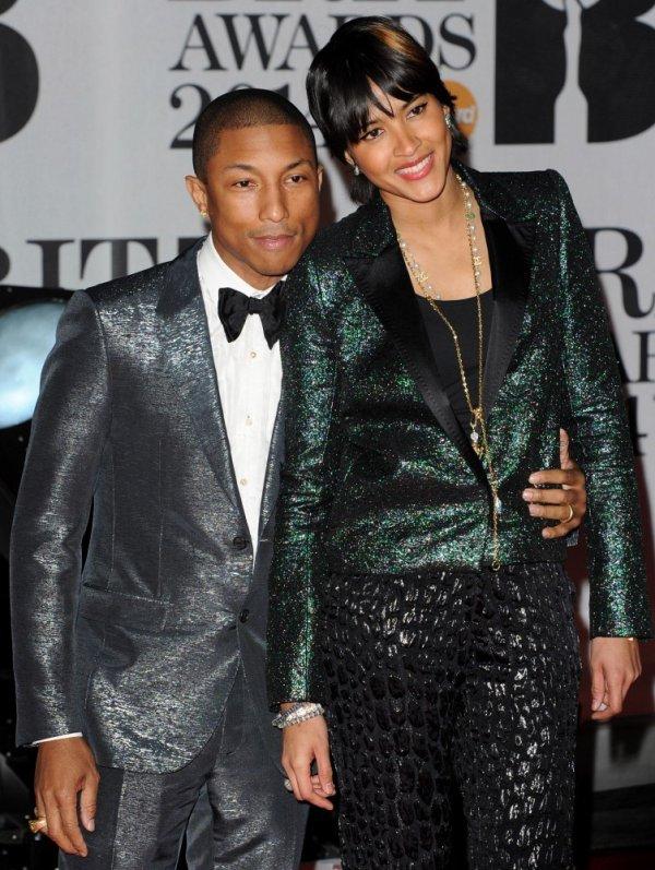 Pharrell - BRIT Awards 2014 - Londres - 19 février 2014