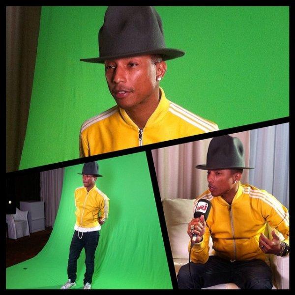Pharrell - Paris - 23 janvier 2014