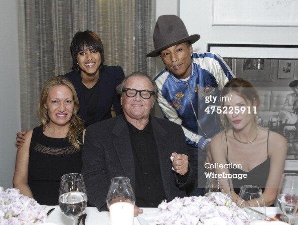Pharrell - VIOLET GREY Honors Elizabeth Taylor - Los Angeles - 26 février 2014