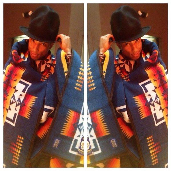 Pharrell - Mars 2014