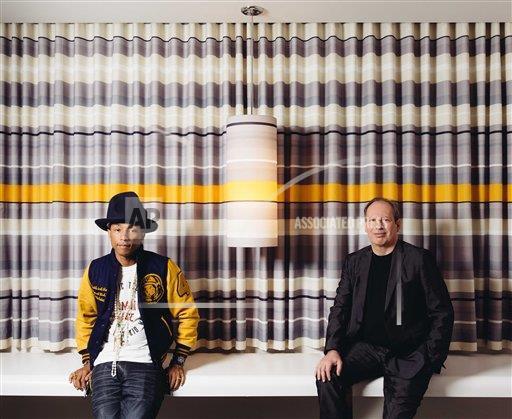 Pharrell & Hans Zimmer - 25 mars 2014 - Los Angeles