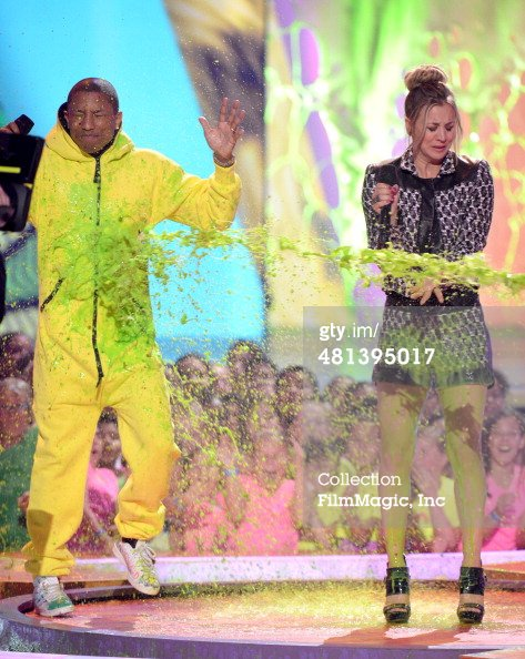 Pharrell Kids' Choice Awards - Los Angeles - 29 mars 2014