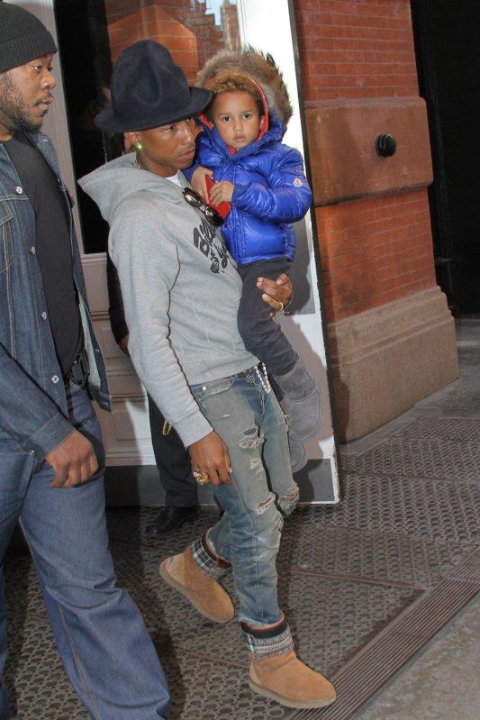 Pharrell - Avant-Première de The Amazing Spider-Man 2 - New York City - 24 avril 2014