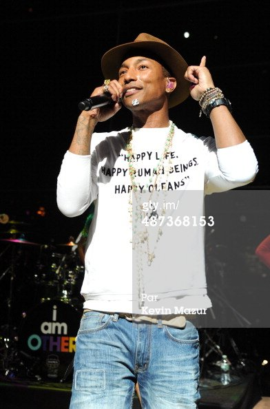 Pharrell - TIME's 100 Most Influential People In The World Gala - New York - 29 avril 2014