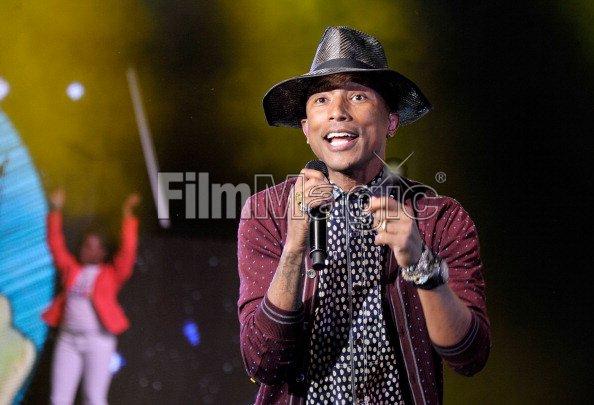 Pharrell - Google Presents YouTube Brandcast - NYC - 30 avril 2014