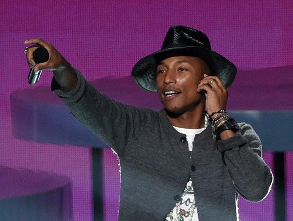 Pharrell - iHeart Radio Music Award - Los Angeles - 1er mai 2014