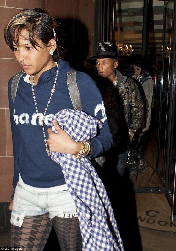 Pharrell - Londres - 23 mai 2014