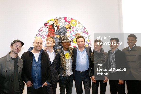 Pharrell - Conférence de Presse pour l'expo G  I  R  L - Paris - 26 mai 2014