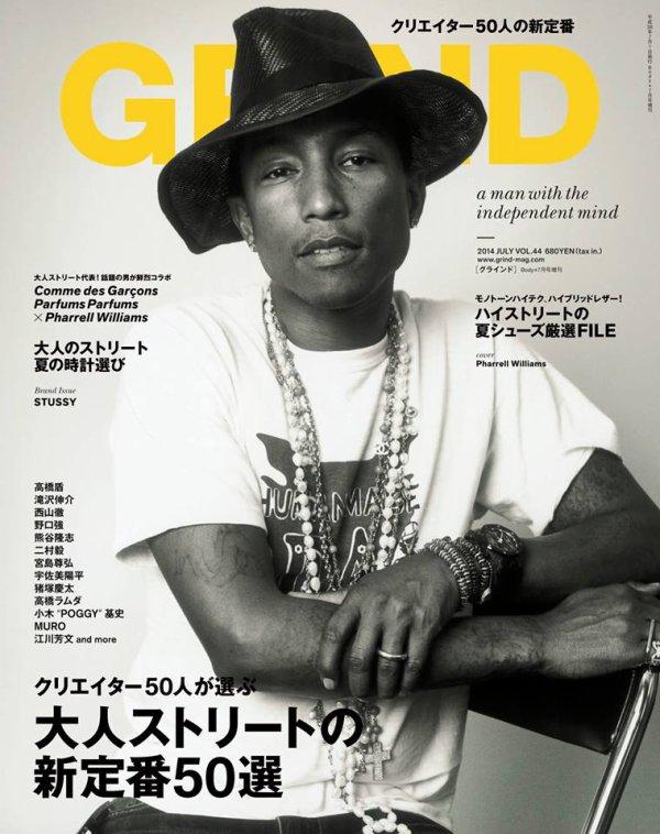 Pharrell - GRIND Magazine Volume 44