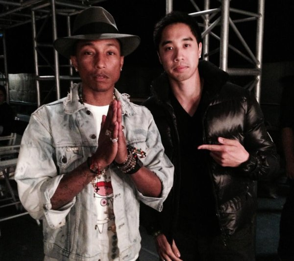 Pharrell & ... - Los Angeles - 14 juin 2014