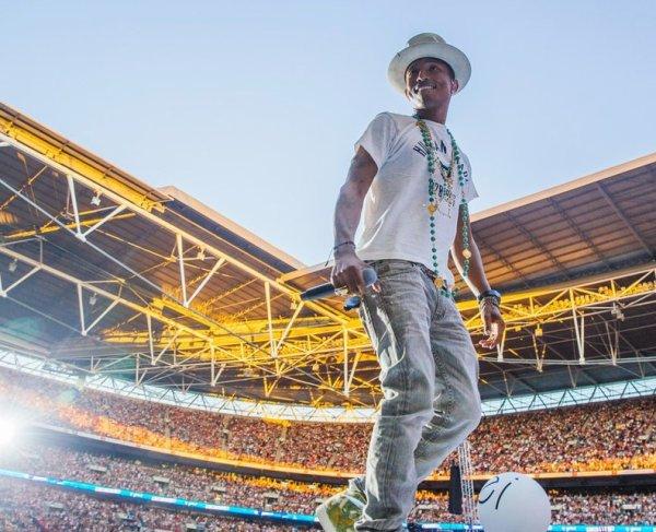 Pharrell - Capital Summertime Ball - Wembley Stadium, Londres - 21 juin 2014