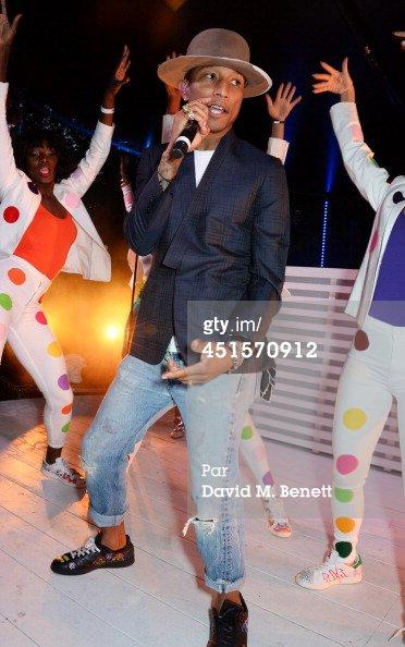 Pharrell - Serpentine Gallery Summer Party - Londres - 1er juillet 2014