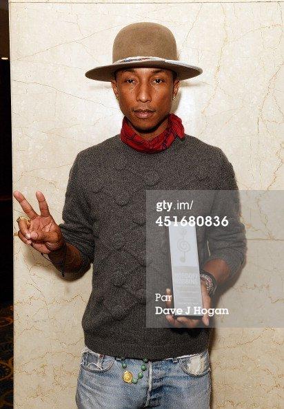 Pharrell - Nordoff Robbins 02 Silver Clef Awards - Londres - 4 juillet 2014
