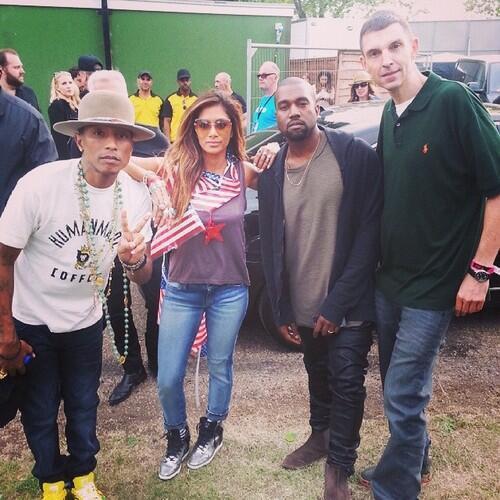 Pharrell - Wireless Festival - Londres - 4 juillet 2014