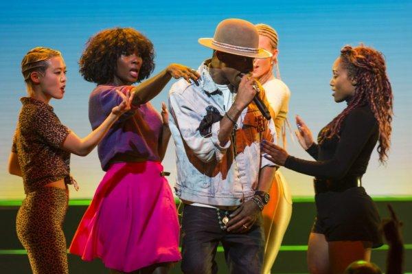 Pharrell - Montreux Jazz Festival - 7 juillet 2014