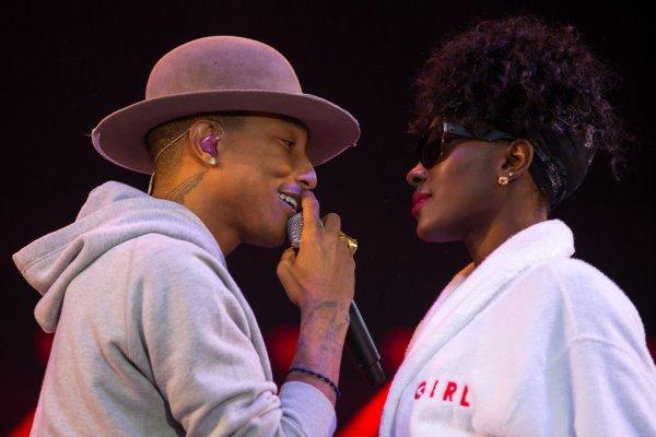 Pharrell - Openair Frauenfeld festival - Suisse - 10 juillet 2014