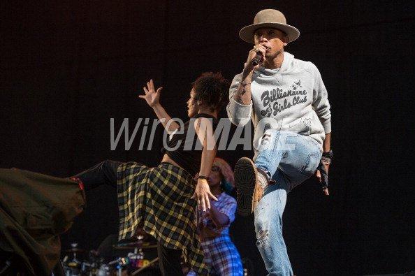 Pharrell - T in the Park festival - Kinross, Ecosse - 12 juillet 2014