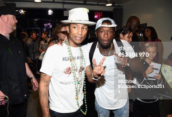 Pharrell - Nickelodeon Kids' Choice Sports Awards Show - Los Angeles - 17 juillet 2014
