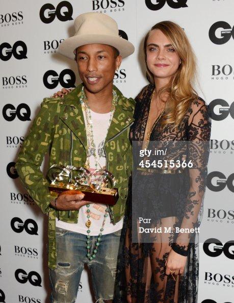 Pharrell - GQ Men of the Year Awards - Londres - 2 septembre 2014