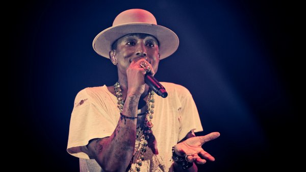 Pharrell and The Baes - The Dear G  I  R  L Tour - Spektrum - Oslo - 14 septembre 2014