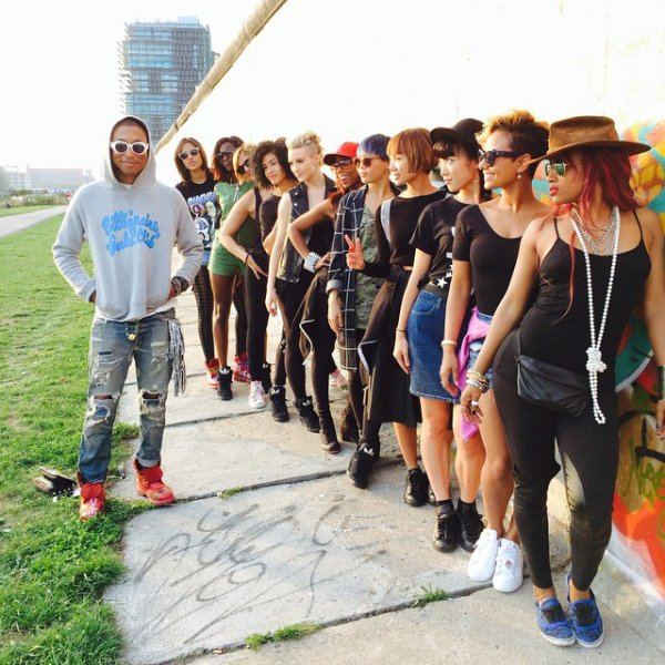 Pharrell and The Baes - Berlin - 15 septembre 2014