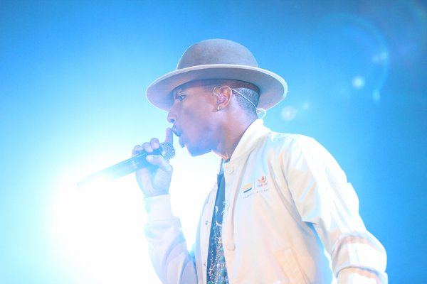 Pharrell and The Baes - The Dear G  I  R  L Tour - ISS Dome - Dusseldorf - 27 septembre 2014