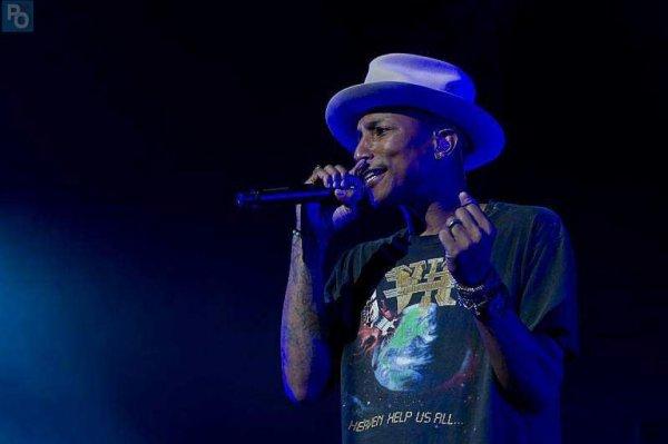Pharrell and The Baes - The Dear G  I  R  L Tour - Zénith - Nantes - 7 octobre 2014