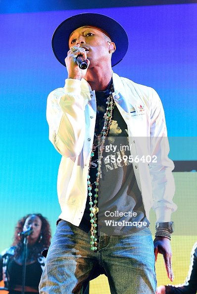 Pharrell and The Baes - The Dear G  I  R  L Tour - O2 Arena - Londres - 9 octobre 2014