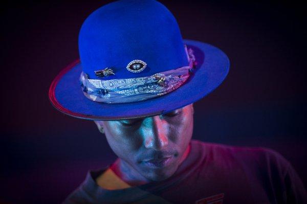 Pharrell and The Baes - The Dear G  I  R  L Tour - Zénith - Paris - 13 octobre 2014