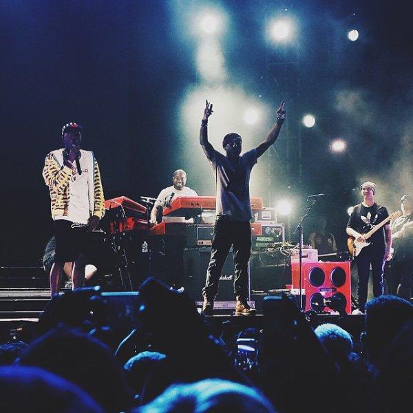 Pharrell - Camp Flog Gnaw Carnival - Los Angeles - 8 novembre 2014