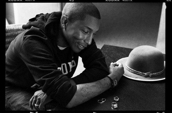 Pharrell par Brian Higbee