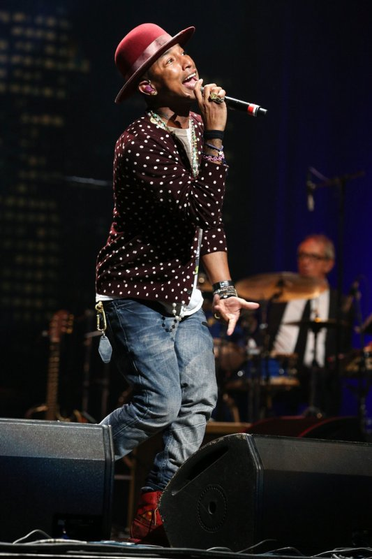 Pharrell - The Thelonius Monk Jazz Trumpet Competition and All Star Gala Concert - Hollywood - 9 Novembre 2014