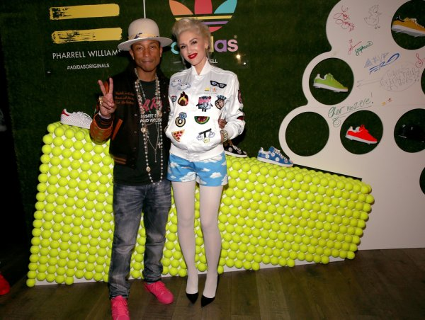 Pharrell - Dîner à l'occasion de la collaboration Adidas x Pharrell - Los Angeles - 3 décembre 2014