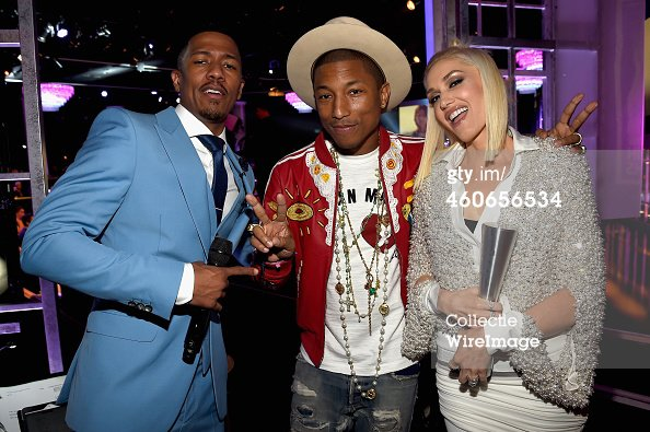 Pharrell - People Magazine Awards - Beverly Hills - 18 décembre 2014