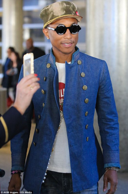 Pharrell - Paris - 23 janvier 2015