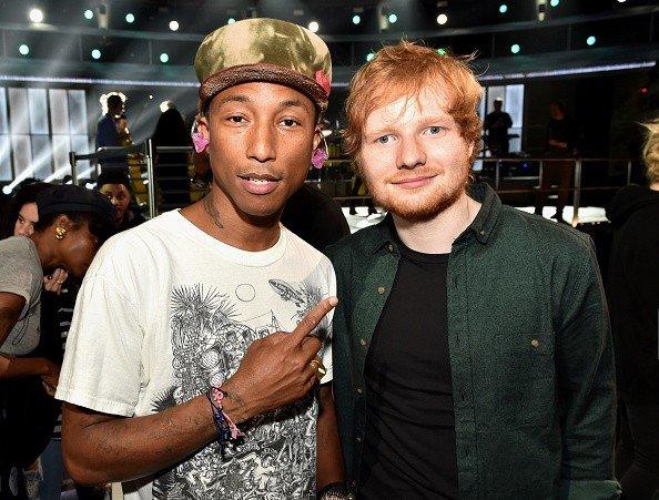 Pharrell - Répétitions des Grammy Awards - Los Angeles - 6 février 2015