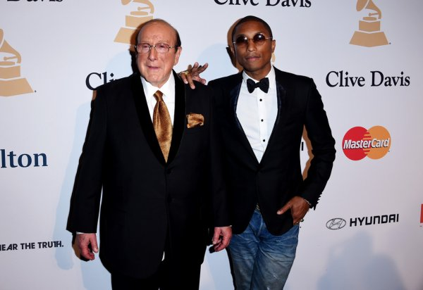 Pharrell - Pre-Grammy Gala - Beverly Hills - 7 février 2015