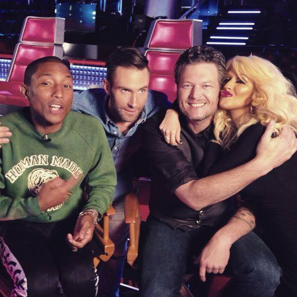 The Voice Saison 8 - Interviews - Los Angeles - 9 février 2015
