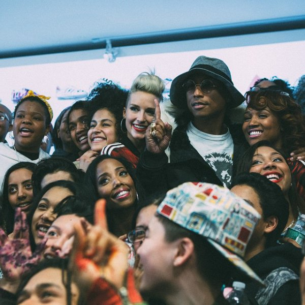 Pharrell & The Baes - Adidas Superstar Experience - NYC - 14 février 2015