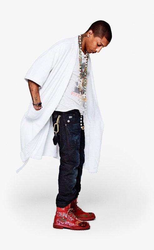 G-Star Raw x Pharrell x Parley for the Oceans x Bionic Yarn x The Vortex Project