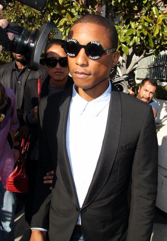 Pharrell - Procès Blurred Lines - Los Angeles - 4 mars 2015