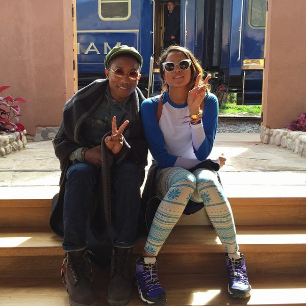 Pharrell & team OTHER - Machu Picchu, Pérou - 26 mars 2015