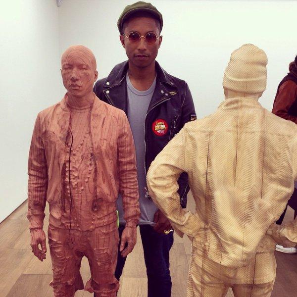 Pharrell & Helen - New York City - 31 mars 2015
