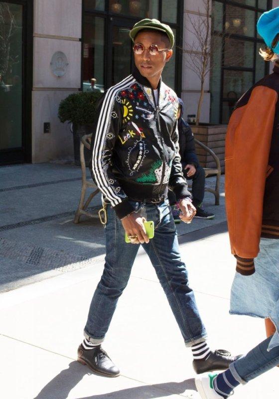 Pharrell & Helen - New York City - 1er avril 2015