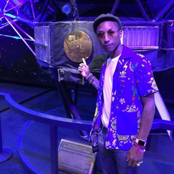 Pharrell - NASA Jet Propulsion Laboratory - Pasadena, CA - 4 avril 2015