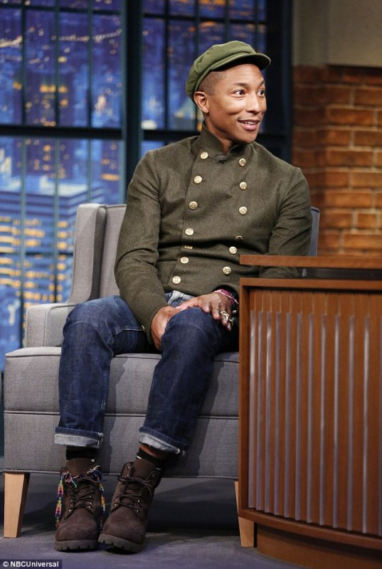 Pharrell - Late Night With Seth Meyers