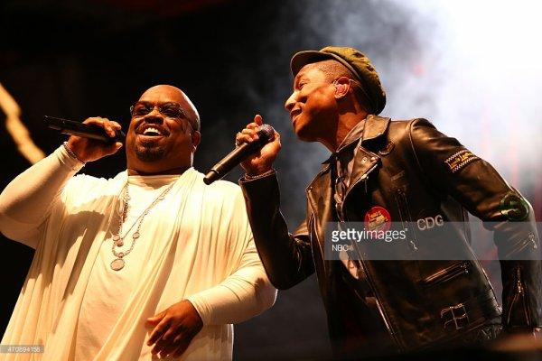 Pharrell - NBC's The Voice Season 8 Spring Break Event - West Hollywood - 23 avril2015