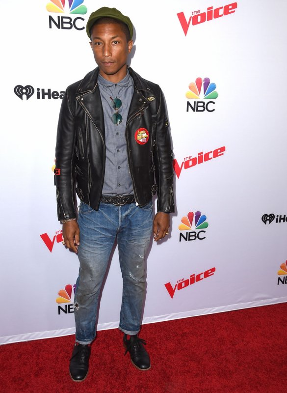 Pharrell - NBC's The Voice Season 8 Spring Break Event - West Hollywood - 23 avril2015