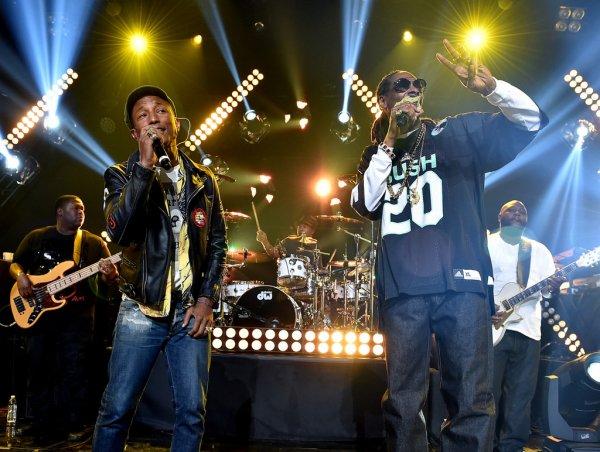Pharrell & Snoop - iHeart Radio Theater - Los Angeles - 11 mai 2015