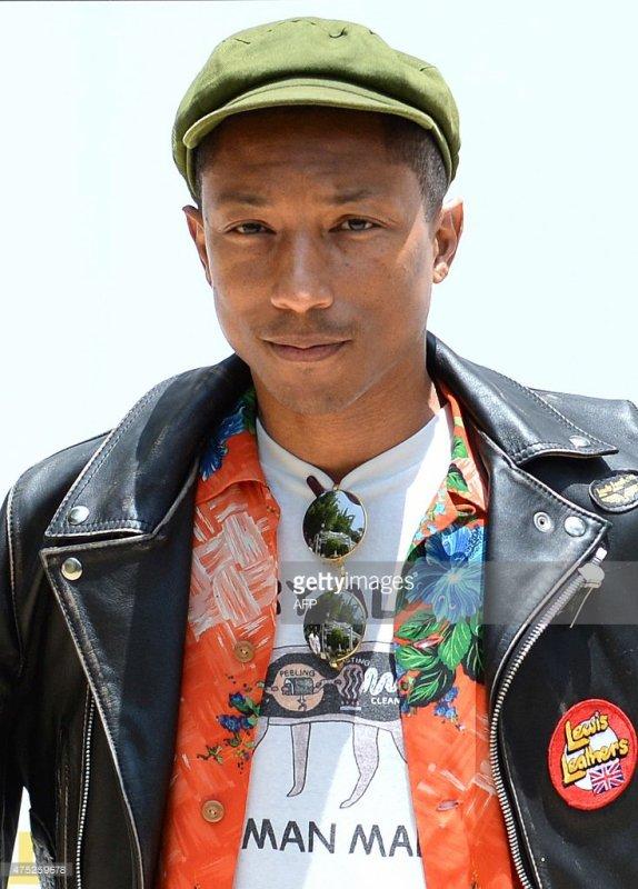 Pharrell - Rabat, Maroc - 30 mai 2015